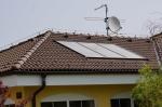 Solární systém rod. dům Kájov