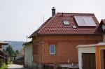 Solární systém rod. dům Větřní