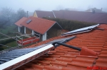 Solární systém rod.dům Radostice